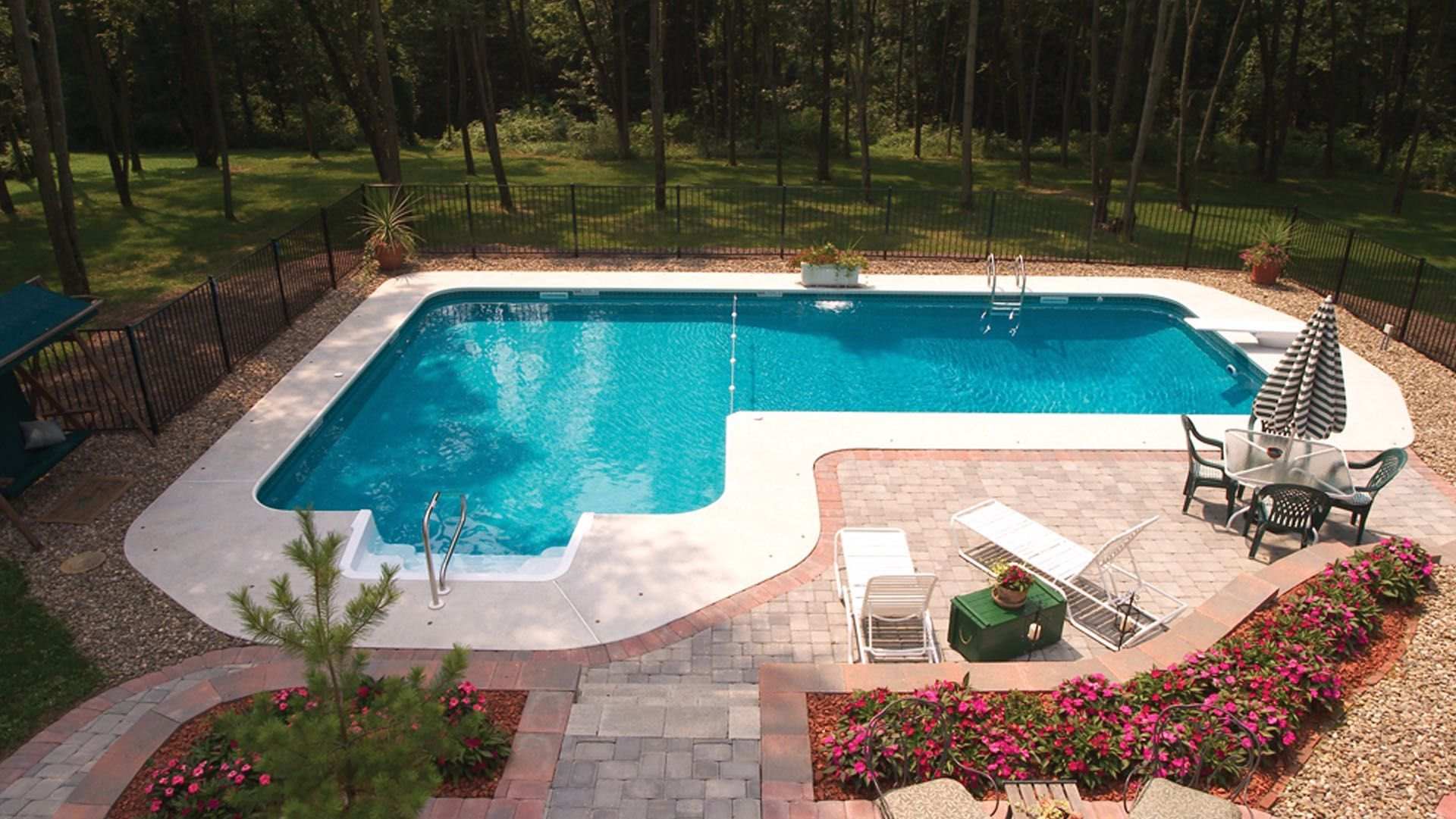 Swiming Pools Stainless Patio Chair With Stainless Fence