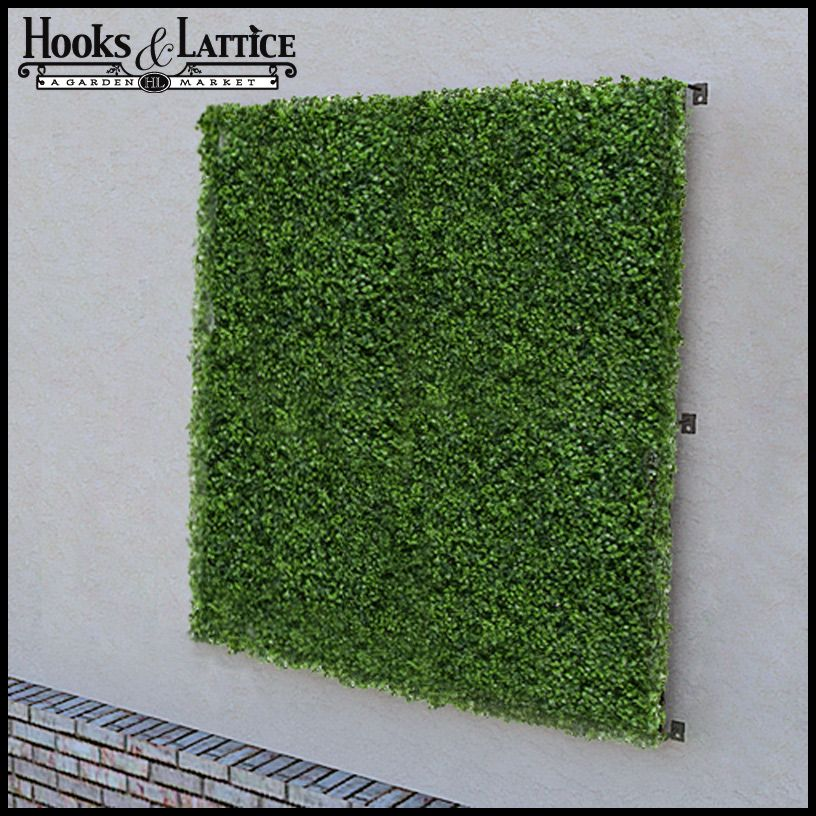 Genial Artificial Living Wall And Privacy Screen 48in. X 48in. $399.85