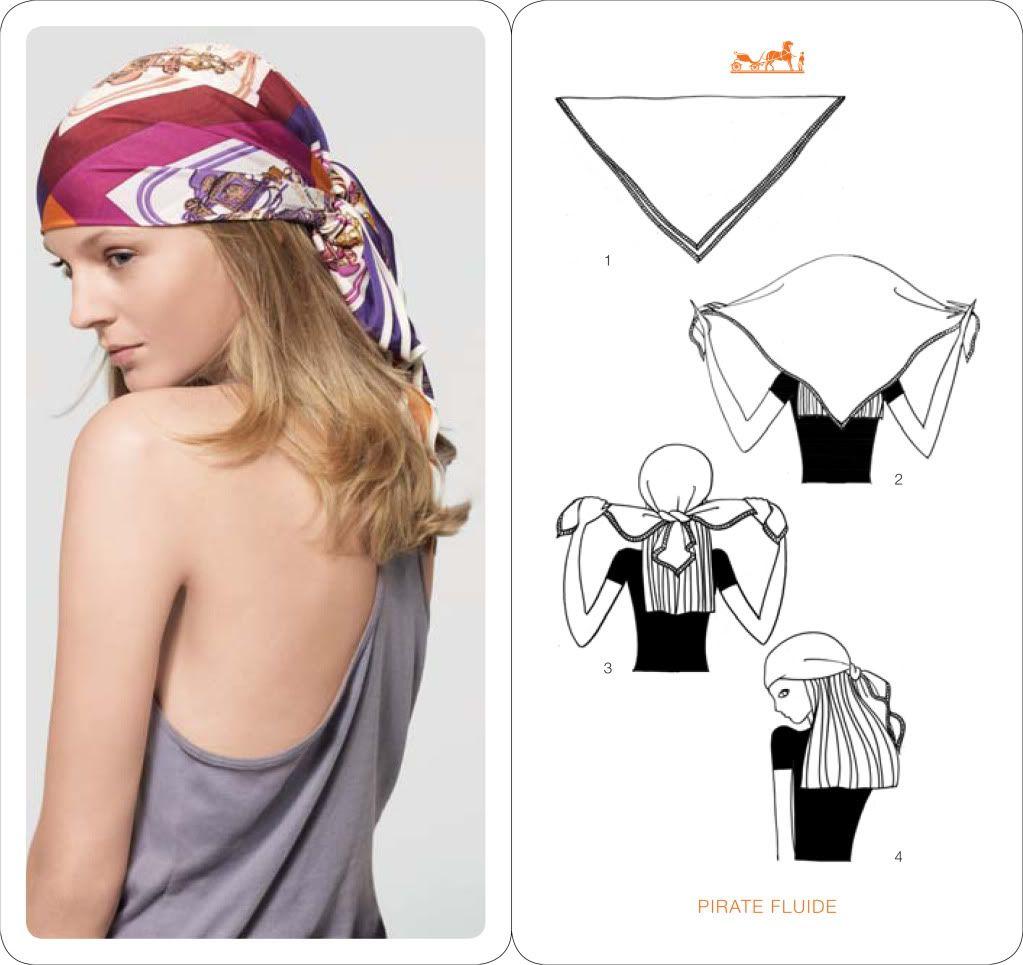 comment nouer un foulard cheveux pirates 1 and on. Black Bedroom Furniture Sets. Home Design Ideas