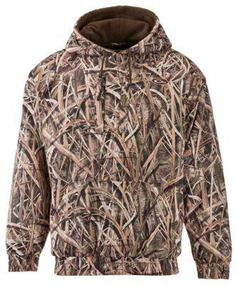 02833231bf075 Drake Waterfowl Systems MST Waterproof Hoodie for Men - Mossy Oak Shadow  Grass Blades - 2X