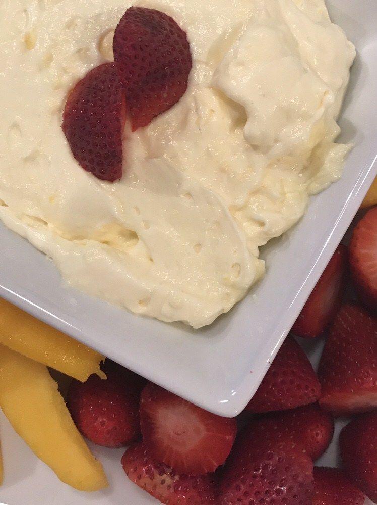 3 Ingredient Fruit Dip Recipe Sugar Free Pudding Healthy