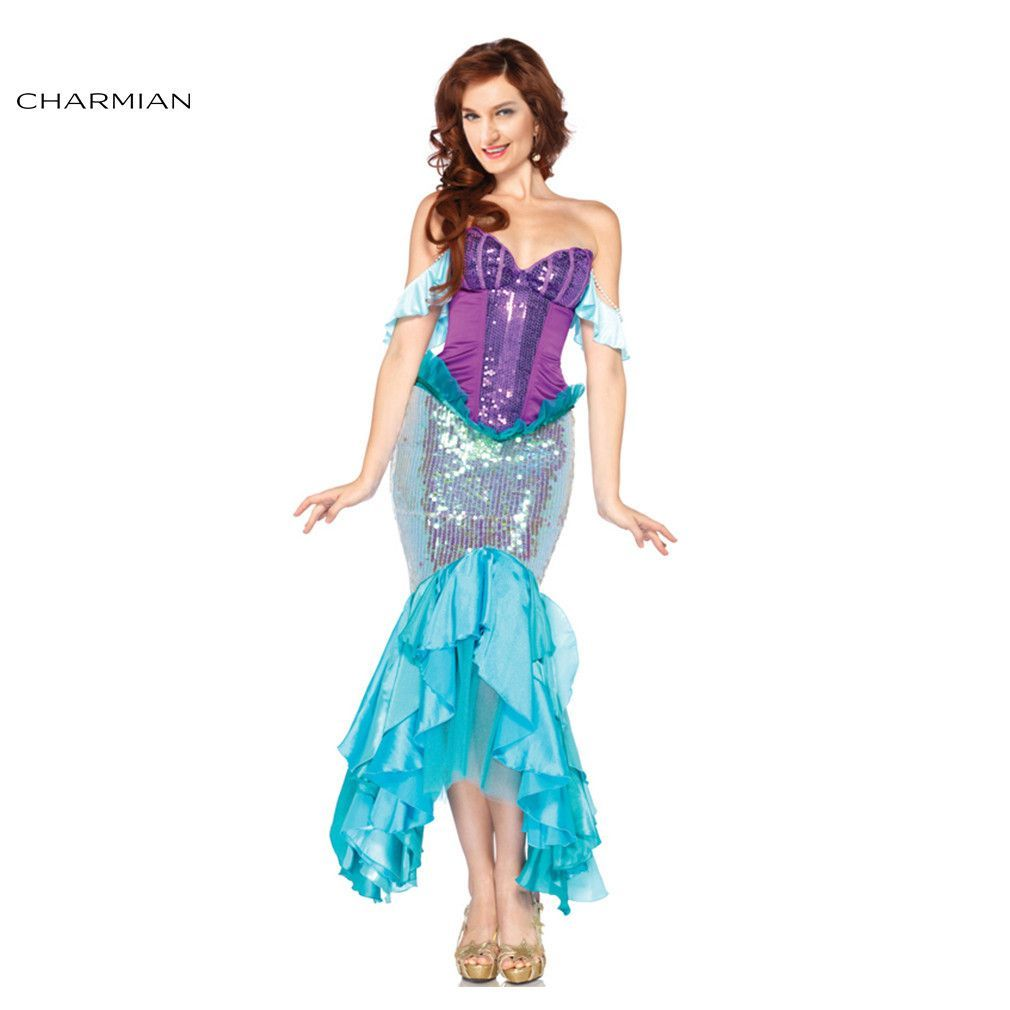 charmian deluxe the little mermaid tails princess ariel adult