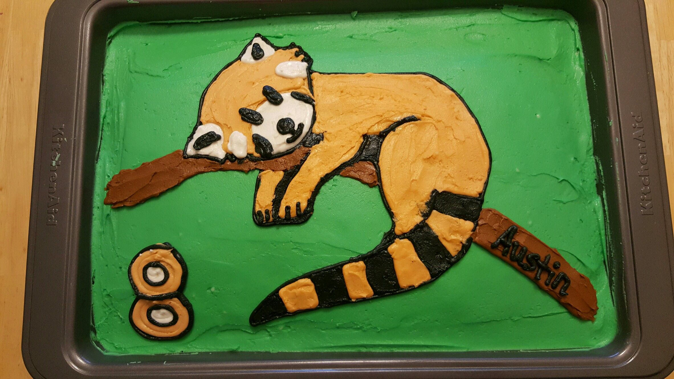 Red Panda Cake Cakes Pinterest Panda Cakes Cake And Recipes