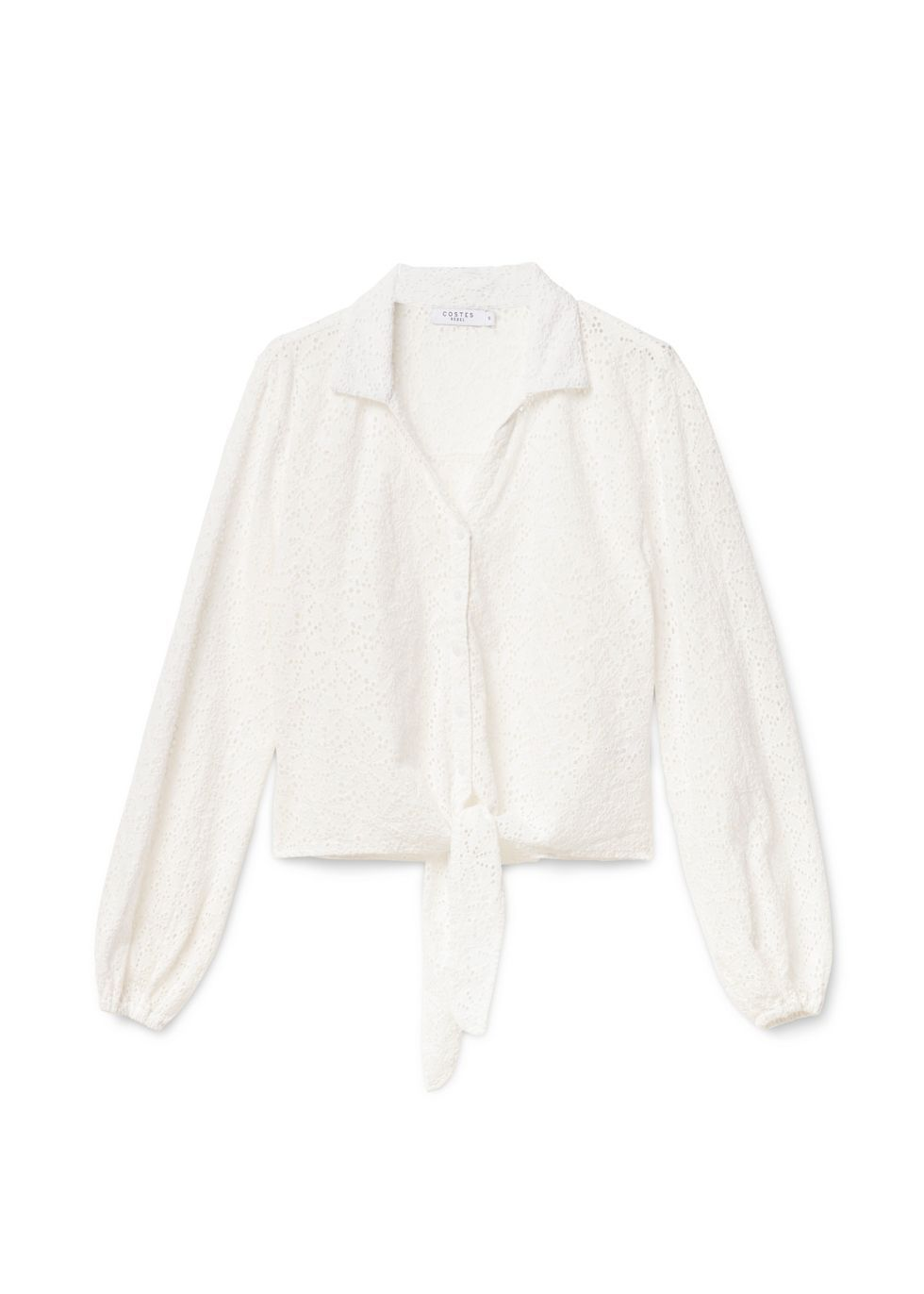 Broderie Knot Blouse | Costes Fashion | Mode, Kleding, Clothes