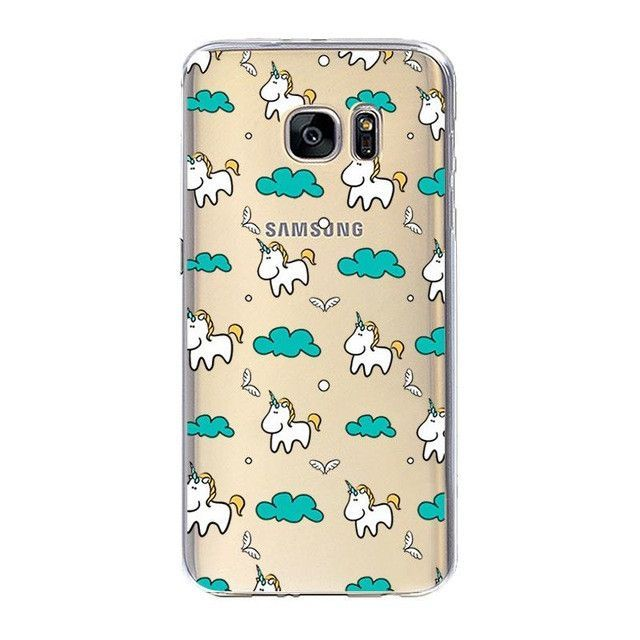 newest 02a51 ae865 Unicorn for Coque iPhone 7 7 Plus 5 5S 5C SE 6 6S Plus Case for ...
