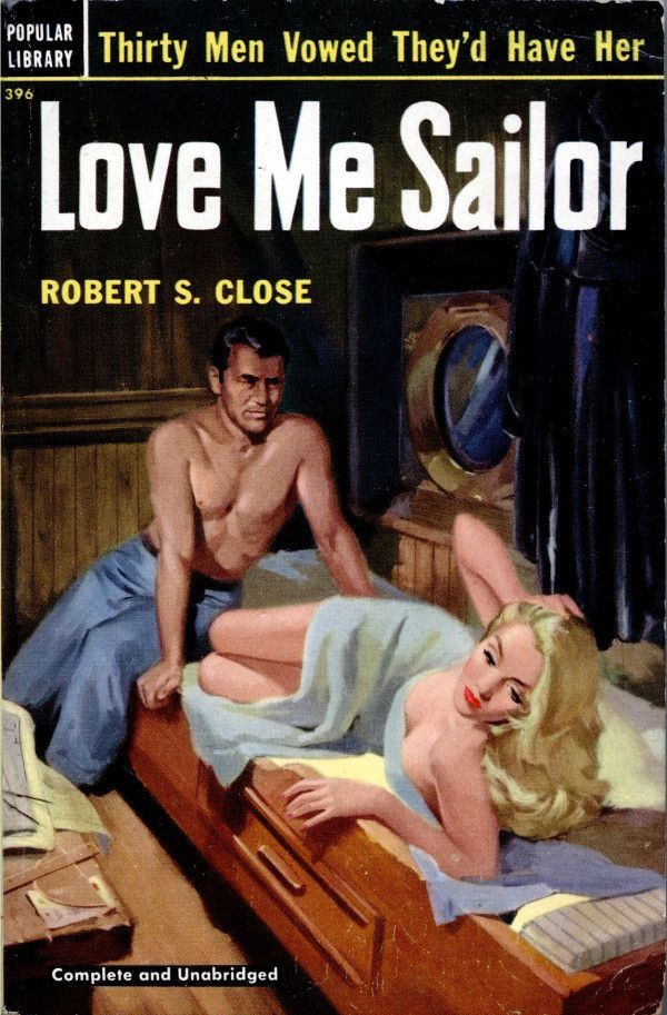 Image result for love me sailor pulp cover