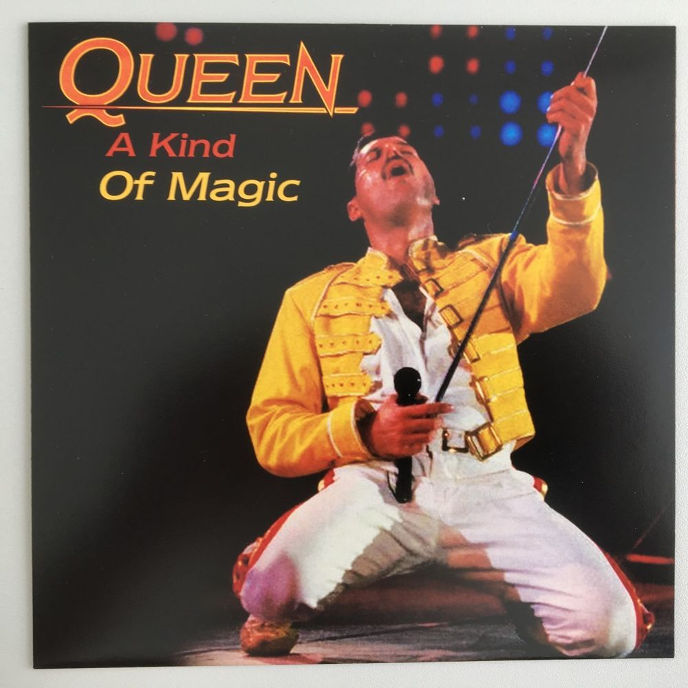 Queen A Kind Of Magic Spain Unique Sleeve Uk Vinyl Single A Kind Of Magic Queen Queen Freddie Mercury