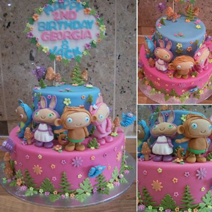 like the ferns and total happiness!   Fancy cakes, Fondant ...