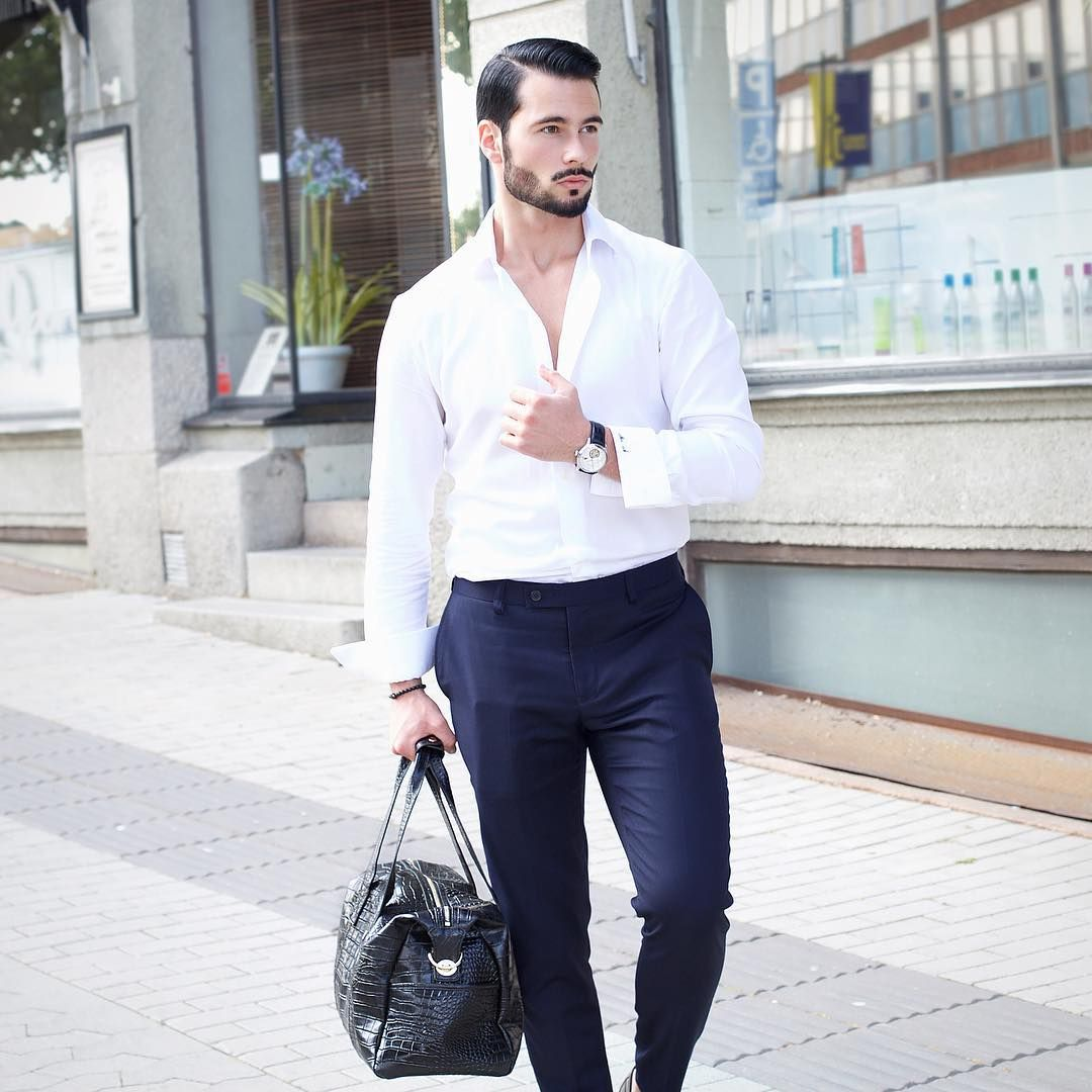 13 Ways To Wear Your Crisp White Shirt Mens Street Style White