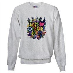 #Artsmith Inc             #ApparelTops              #Sweatshirt #Love #Peace #Peace #Symbol #Sign       Sweatshirt Love Peace Joy Peace Symbol Sign                                   http://www.snaproduct.com/product.aspx?PID=7585406