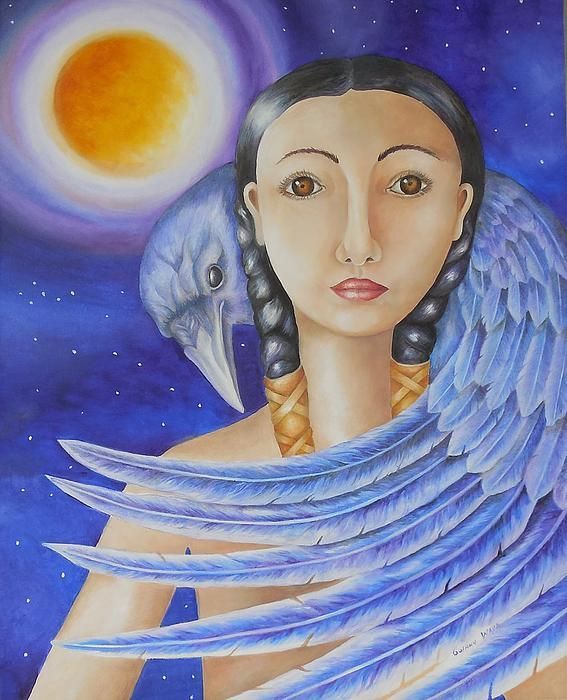 Raven Spirit Golanv Waya