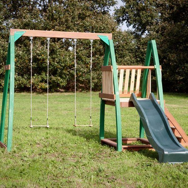 portique bois swingset sam jeux de plein air en 2018 pinterest portique bois portique. Black Bedroom Furniture Sets. Home Design Ideas
