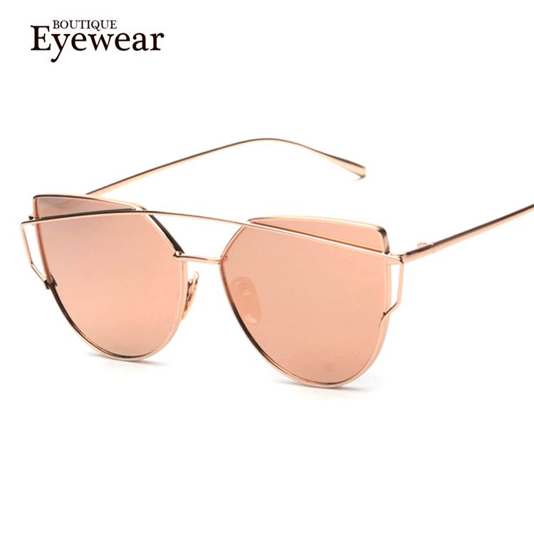 BOUTIQUE Women 6 Colour Luxury Cat Eye Sunglasses Women Sunglasses Double-Deck Alloy Frame UV400 Oh just take a look at this! #shop #beauty #Woman's fashion #Products #Classes