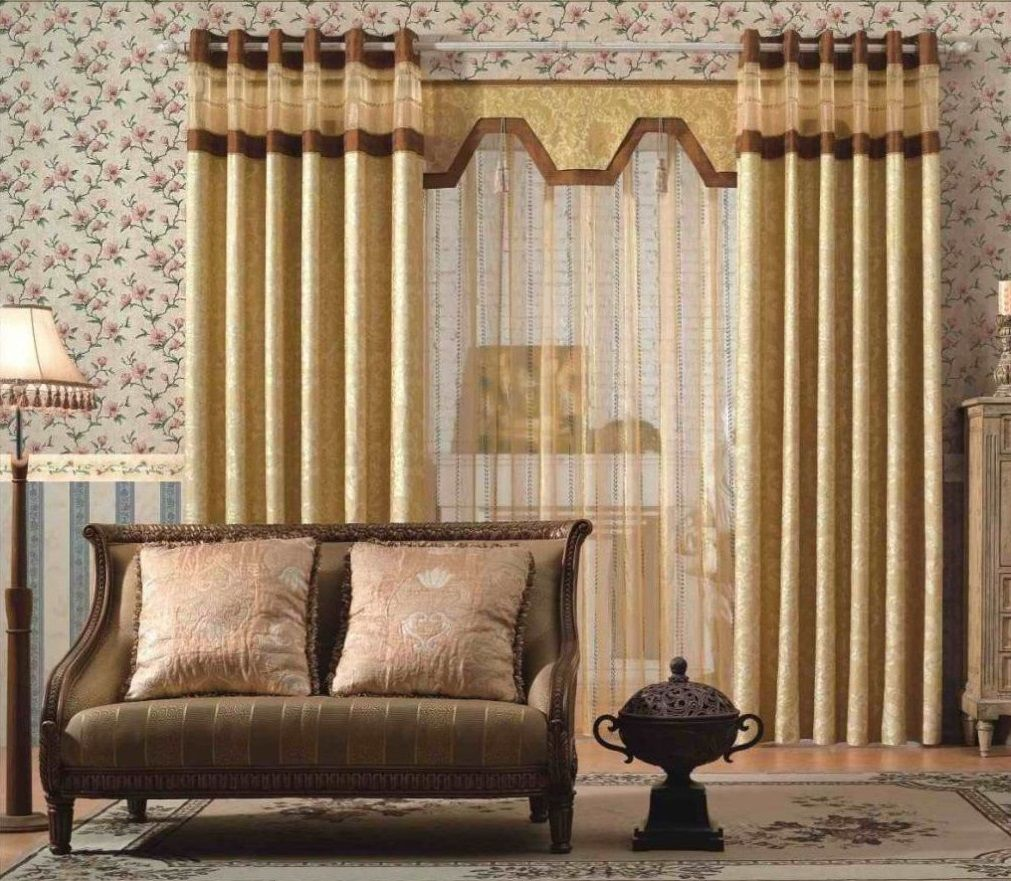 17++ Gold curtains living room ideas information