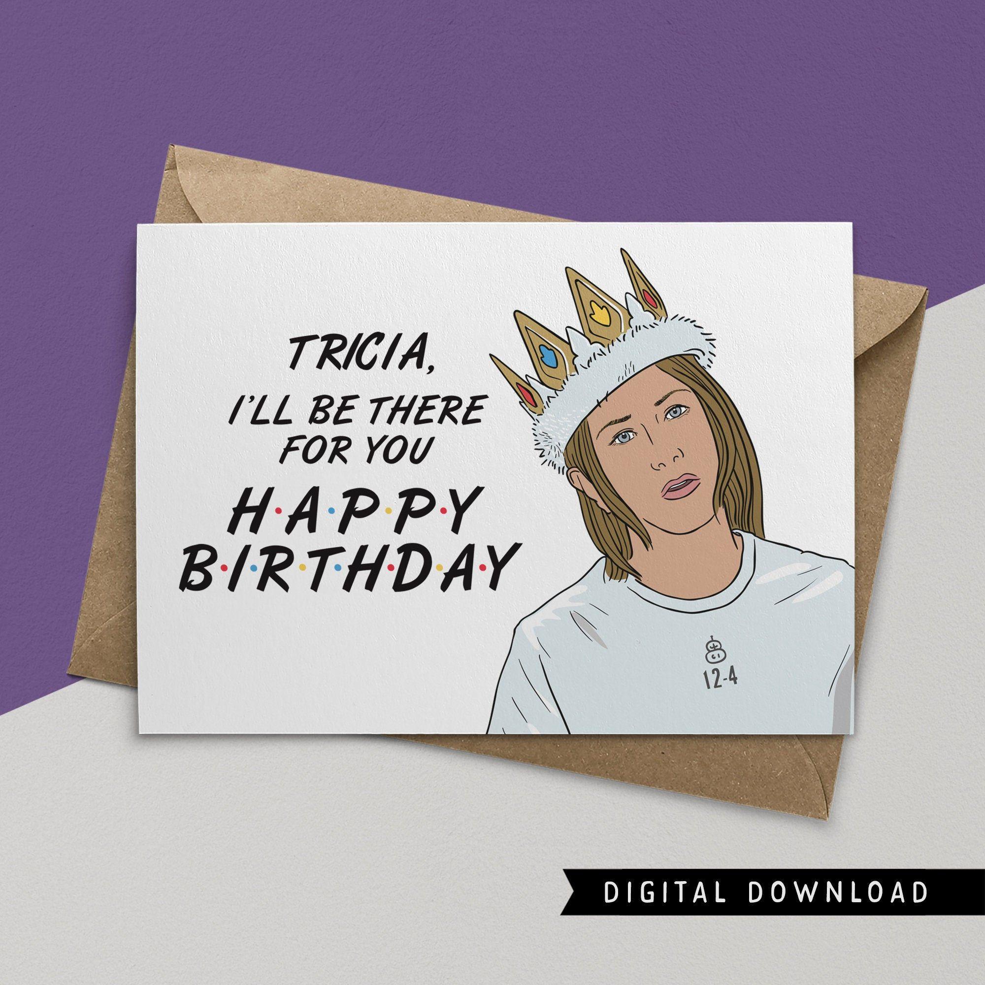 Buy 1 Get 1 Free Printable Birthday Card Instant Download Etsy In 2021 Birthday Card Printable Funny Birthday Cards Happy Birthday Cards
