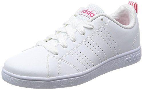 1e6c2585534fe adidas Vs Advantage Cl K Chaussures de Running Mixte Enfant Bianco Blanc  (Ftwbla   Ftwbla