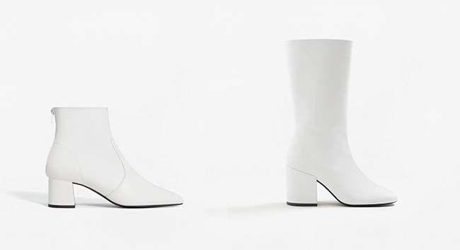 venta minorista 0e2cb 2a767 Tú decides: botas blancas, ¿sí o no?   Zapatos.   Botas ...