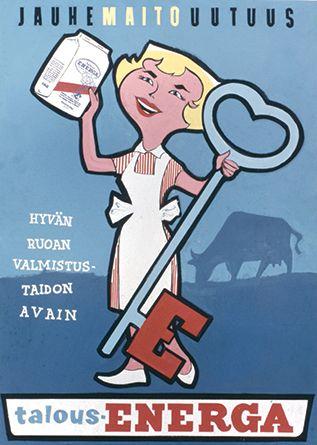 Valio - Talous-Energa, 50-luvulta