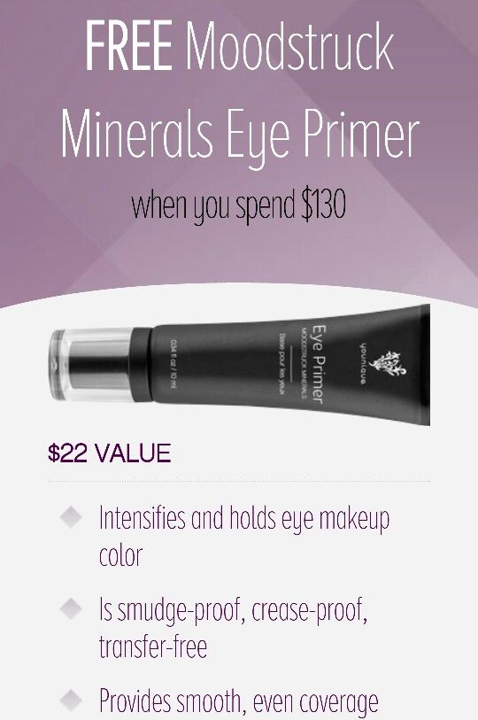 November Kudos with qualifying order! Eye primer has several benefits www.youniqueproducts.com /Brighteyes08
