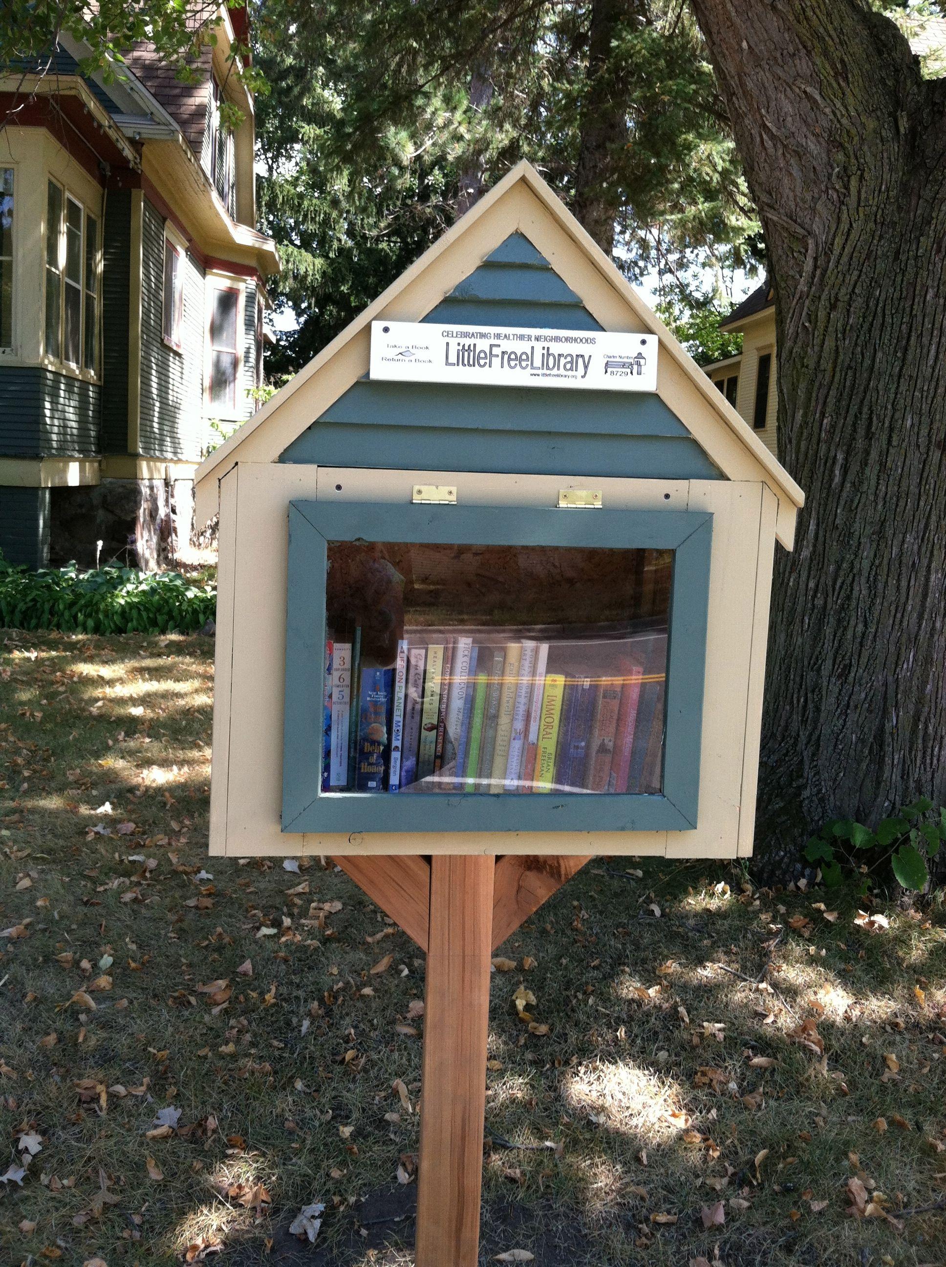 Wendy Kresha Little Falls Mn Little Free Libraries Little Library Free Library