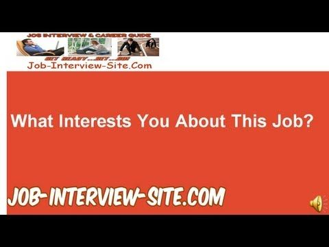 Why Are You Applying For This Position? Interview Question and - interview question