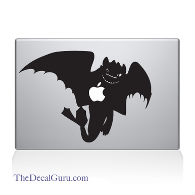 How To Train Your Dragon Night Fury Macbook Decal