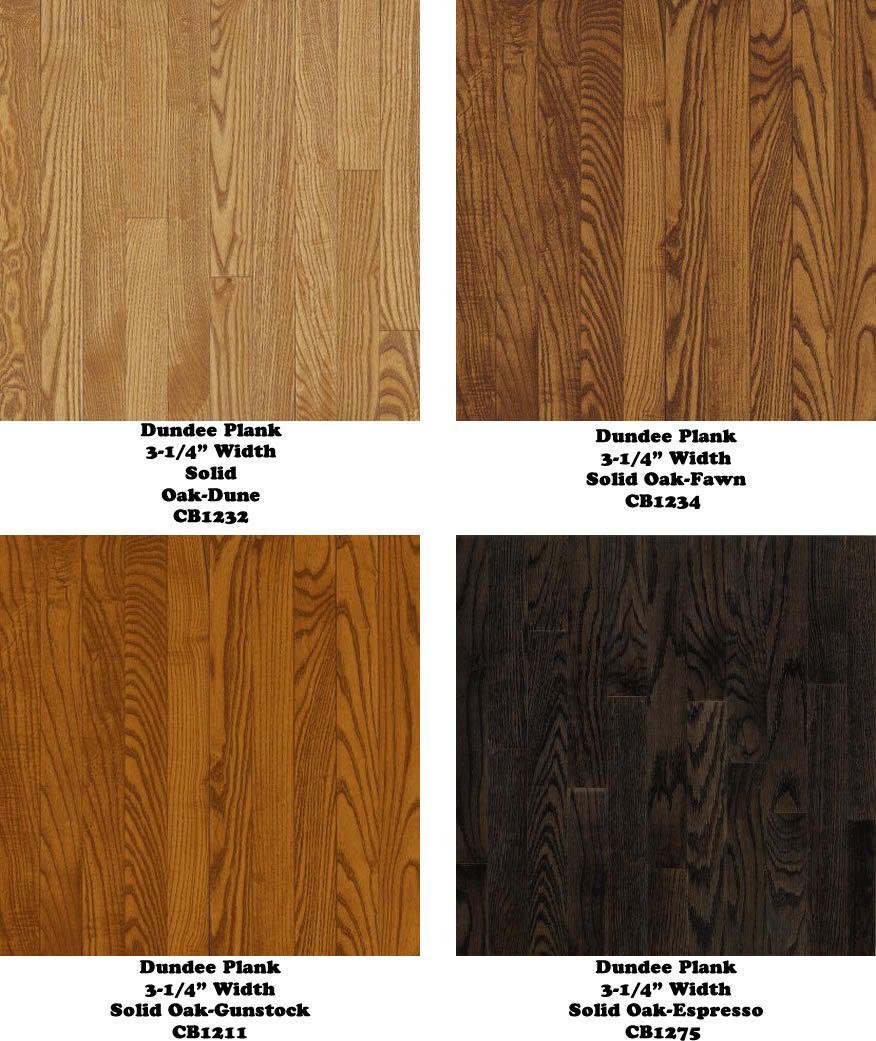 Solid Oak Wood Flooring Dune Gunstock Espresso Fawn
