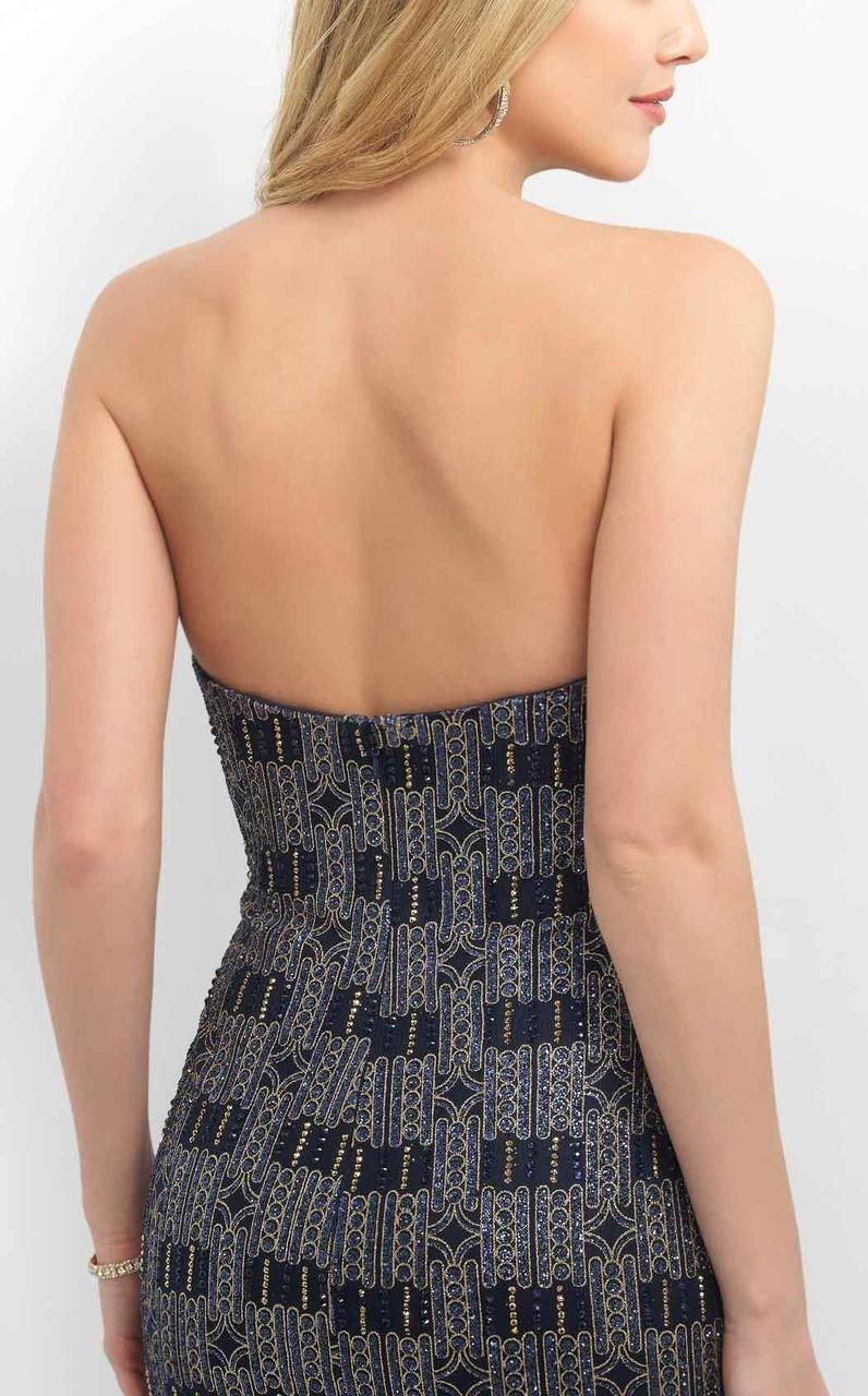 Blush By Alexia Designs C359 Sweetheart Neckline Cocktail Dress