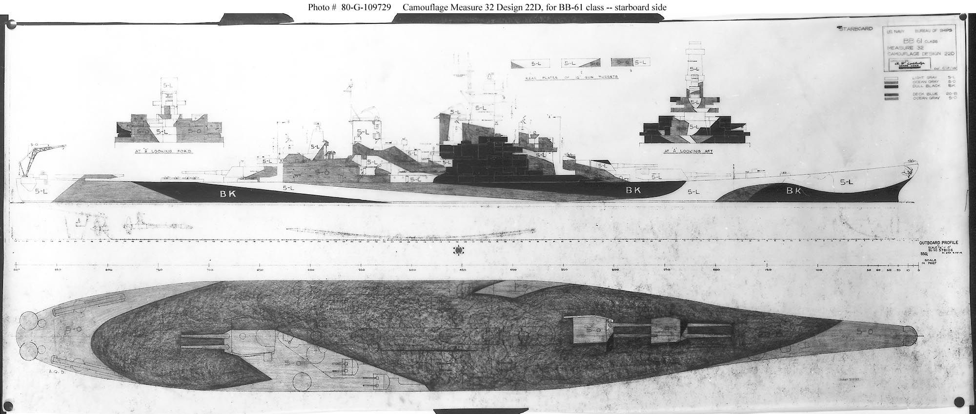 hight resolution of dazzle camouflage diagram