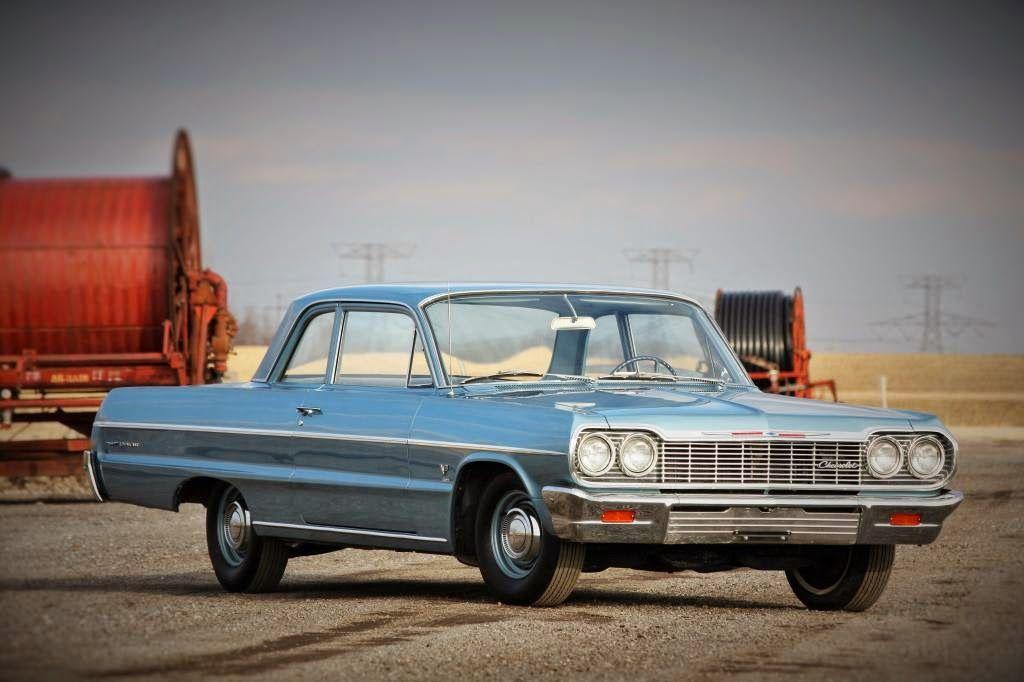 1964 Chevrolet Bel Air 2 Door Sedan Chevrolet American Classic Cars Impala