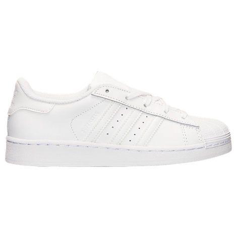 Kids\u0027 Preschool adidas Superstar Velcro Casual Shoes| Finish Line