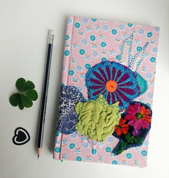 Floral Notebook, Customized notebook, Gifts for travelers, daughter gifts, flower notebook, spring flowers journal, hipster gifts, journals