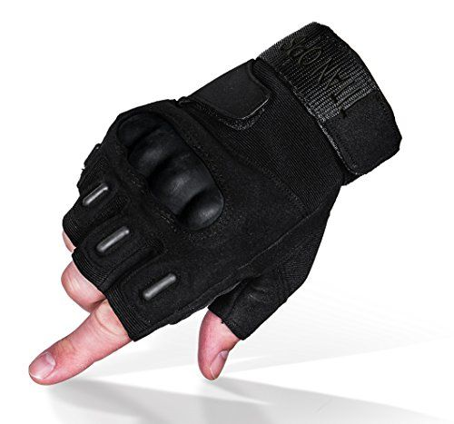 Titanops Full Finger And Half Finger Hard Knuckle Motorcycle Military Tactical Combat Training Army Shooting Outdoor Outdoor Gloves Combat Training Best Gloves
