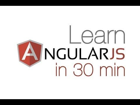 learn angularjs in 30 min angular tutorial for beginners using ui router youtube angular js pinterest watches youtube and tutorials