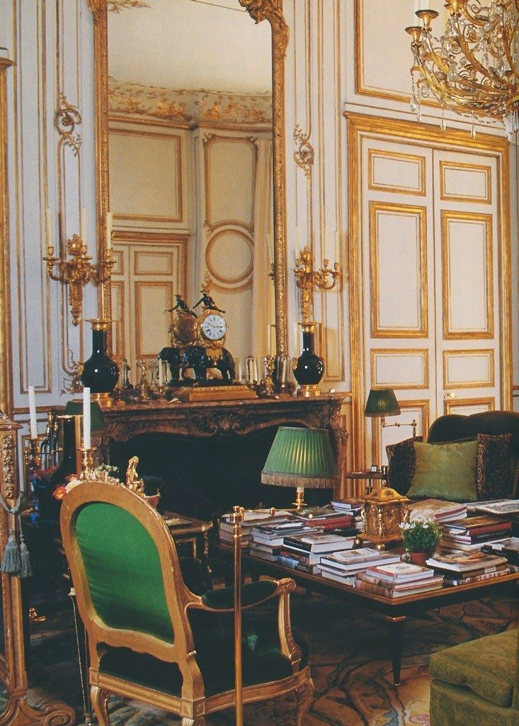 Those Luxurious Greens Style Architectural Maison Georgienne Decoration Interieure