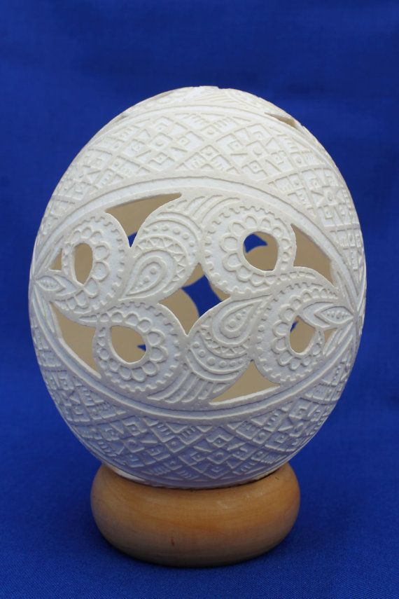 Carved ostrich easter egg symbol of wishes come true easter carved ostrich easter egg symbol of wishes come true easter decorations housewarming gift for newlyweds anniversary negle Choice Image