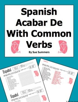 english to spanish translation sentences pdf