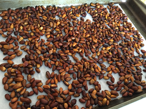 Little Miss Suzy Q How To Roast Pine Nuts In Shell Nuts In Shell Pine Nuts Pine Nut Recipes