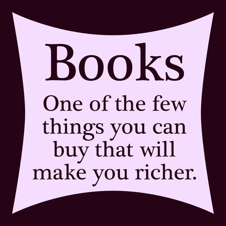Books Make You Rich - Rachel Poli
