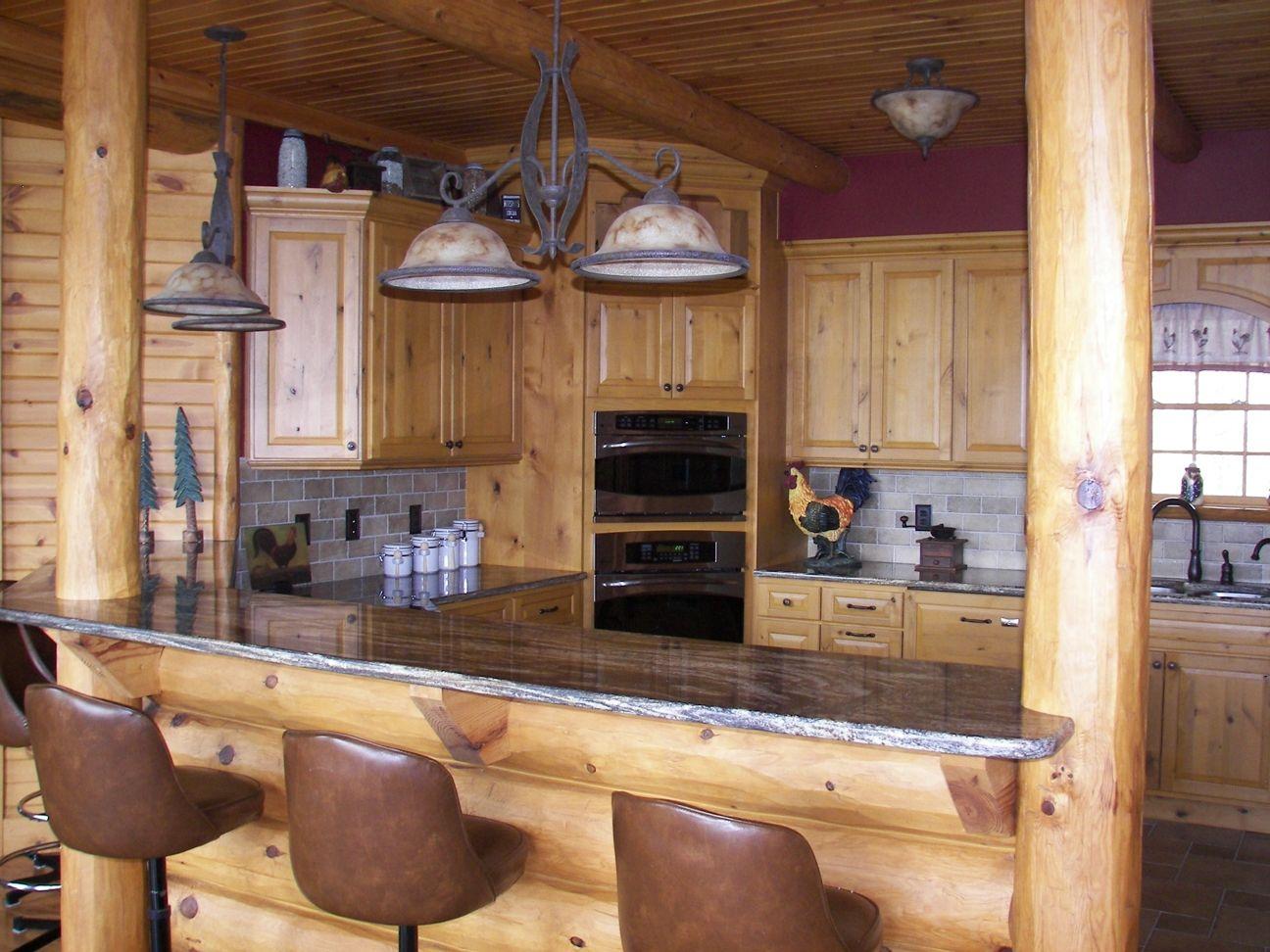 Uncategorized Log Cabin Kitchen Designs log cabin kitchen design expedition homes homes