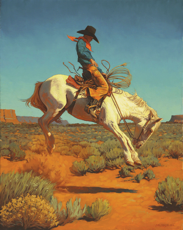 Alone in the Wild Western art, Western artwork, Western