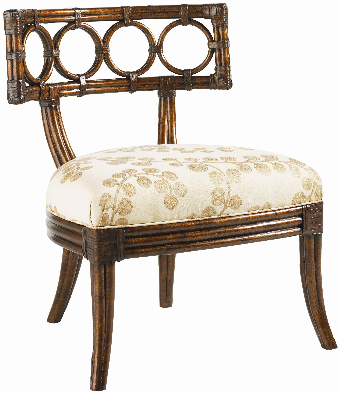 Royal Kahala Koa Lattice Back Chair By Tommy Bahama Home Baer S