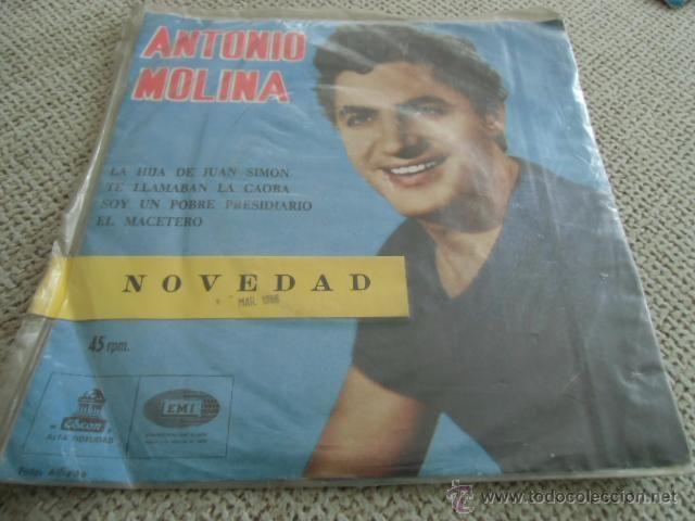 DISCO VINILO NOVEDAD ANTONIO MOLINA CHILE
