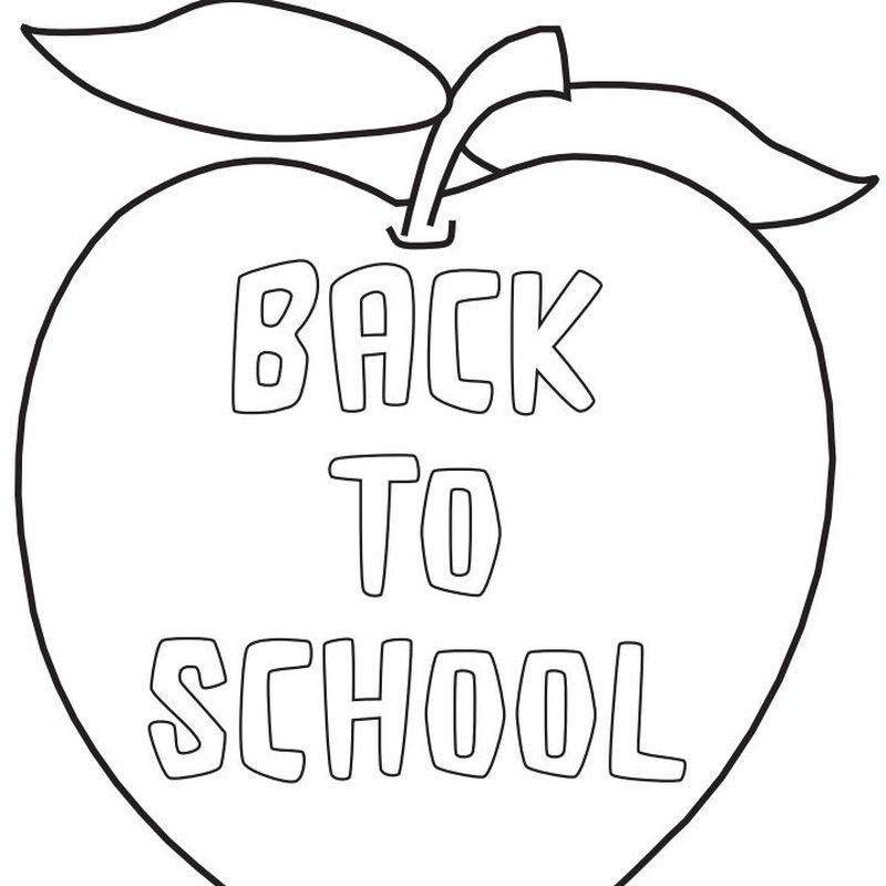 Back To School Coloring Pages For Kids - Free Coloring Sheets School  Coloring Pages, Preschool Coloring Pages, Coloring Pages