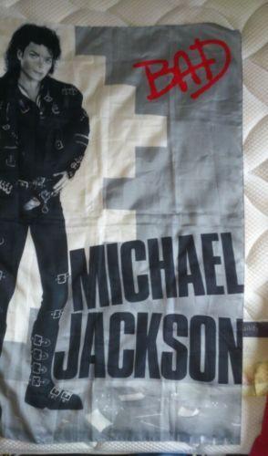 Michael Jackson Original Bad Tour Flag - http://www.michael-jackson-memorabilia.co.uk/?p=11180