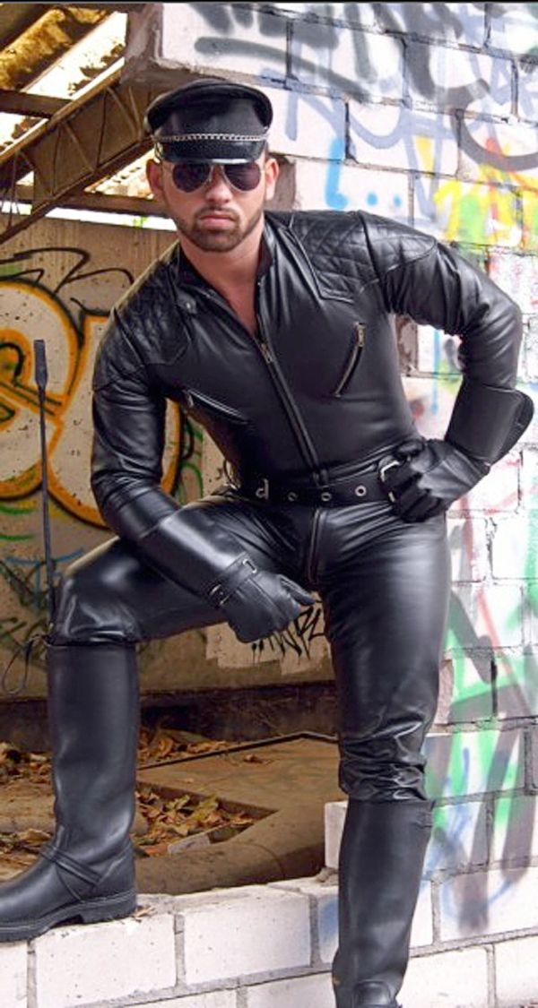 Pin By Mart On Leather Uniform Leather Men Leather