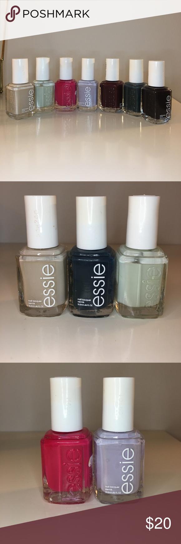 Bundle of essie nail polishes🌸 | Essie nail polish, Wicked and ...