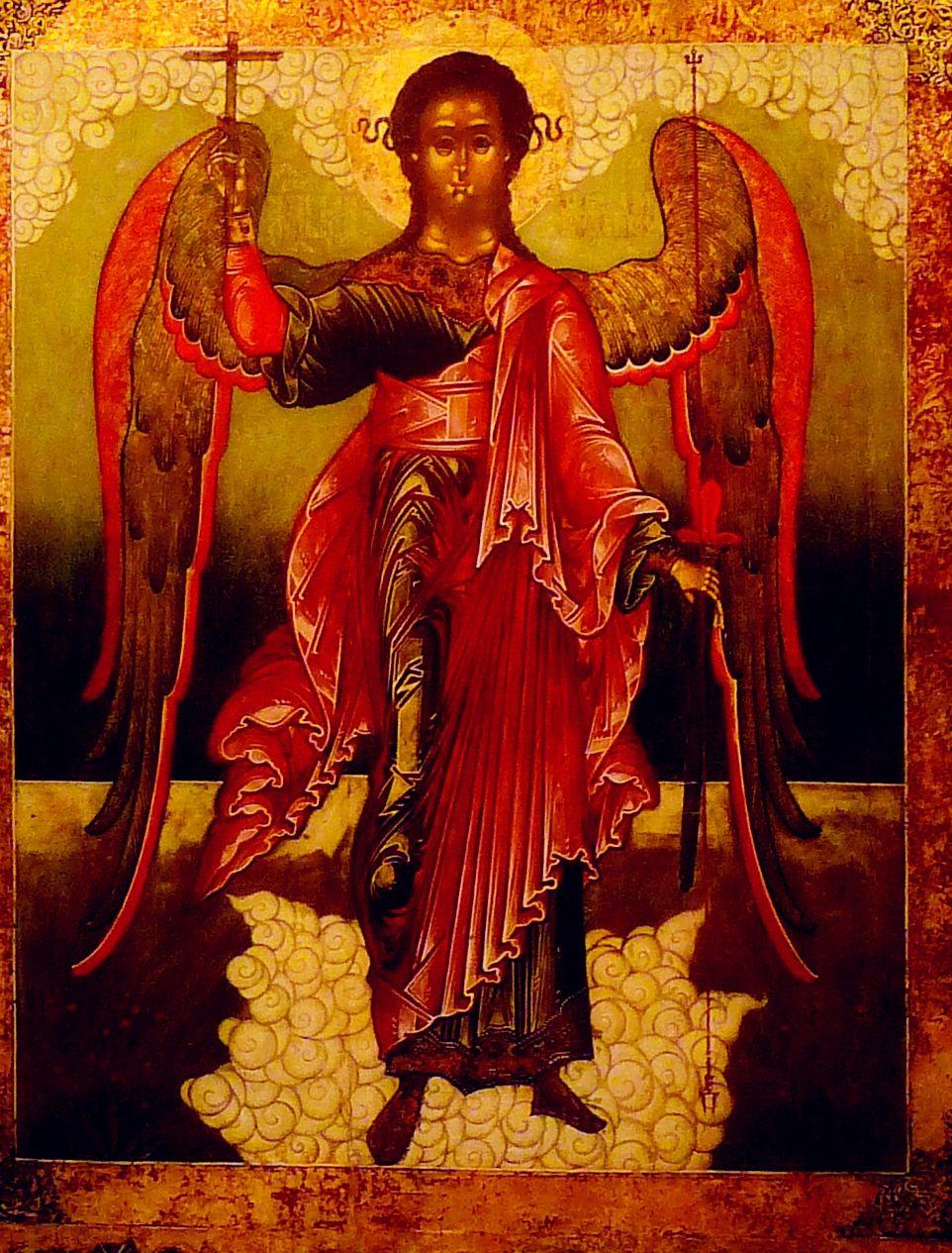 Картинка на мече архангела михаила