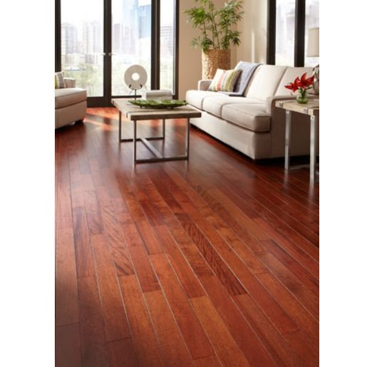 Pacific Mahogany Burgundy 11 16 X 4 3 4 X 1 4 Select And Better Smooth Prefinished Flooring G Hardwood Floors Mahogany Flooring Wooden Floors Living Room