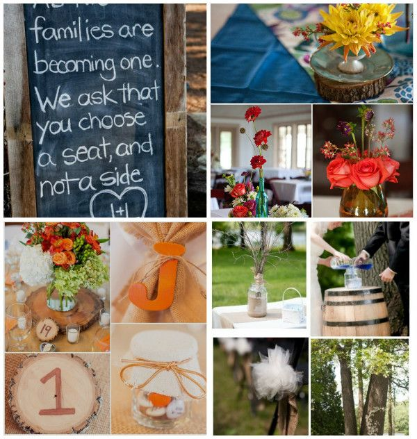 Good Country Themed Wedding Ideas Decorations Part - 9: Rustic And Country Wedding Theme Ideas